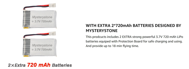 Mysterystone Batteries